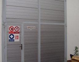 Vrata zateplená